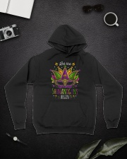 Mardi Gras Let The Shenanigans Begin T-shirt Hooded Sweatshirt lifestyle-unisex-hoodie-front-9
