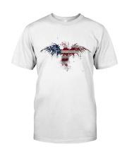 USA Independence Day Celebrate USA Flag Eagle Classic T-Shirt thumbnail