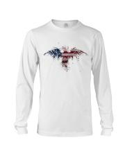 USA Independence Day Celebrate USA Flag Eagle Long Sleeve Tee thumbnail