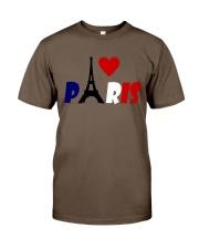 i love Paris Classic T-Shirt front