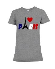 i love Paris Premium Fit Ladies Tee front