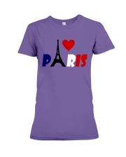 i love Paris Premium Fit Ladies Tee thumbnail