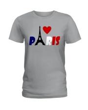 i love Paris Ladies T-Shirt thumbnail