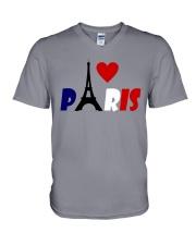 i love Paris V-Neck T-Shirt thumbnail