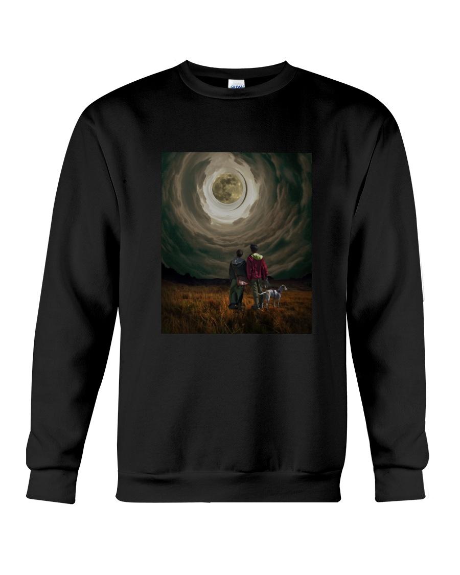 Thinking is a way of life Crewneck Sweatshirt