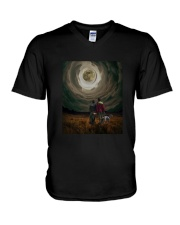 Thinking is a way of life V-Neck T-Shirt thumbnail