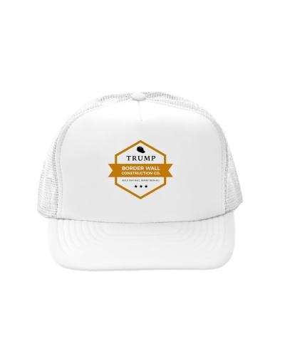 Border Wall Construction Co Trucker Hat
