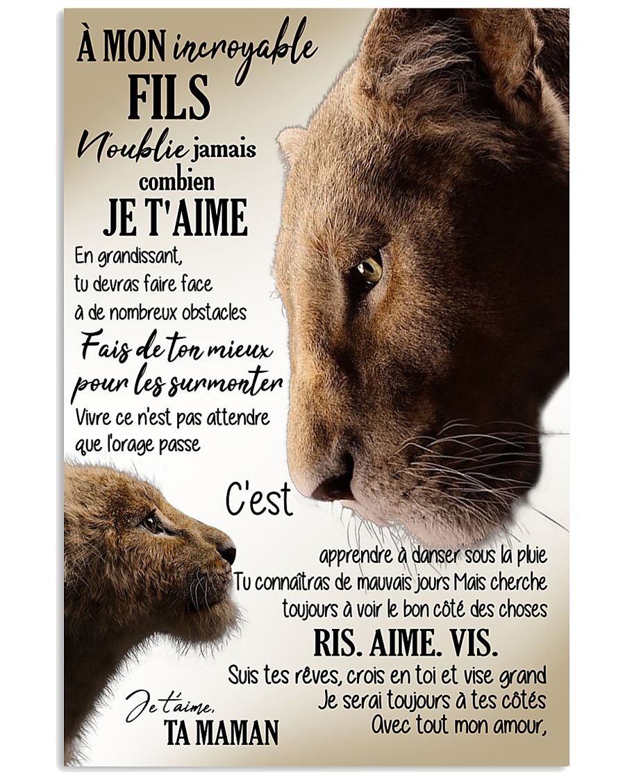 A Mon Incroyable Fils  11x17 Poster