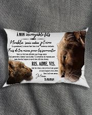 A Mon Incroyable Fils  Rectangular Pillowcase aos-pillow-rectangle-front-lifestyle-1