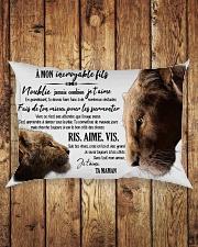 A Mon Incroyable Fils  Rectangular Pillowcase aos-pillow-rectangle-front-lifestyle-2