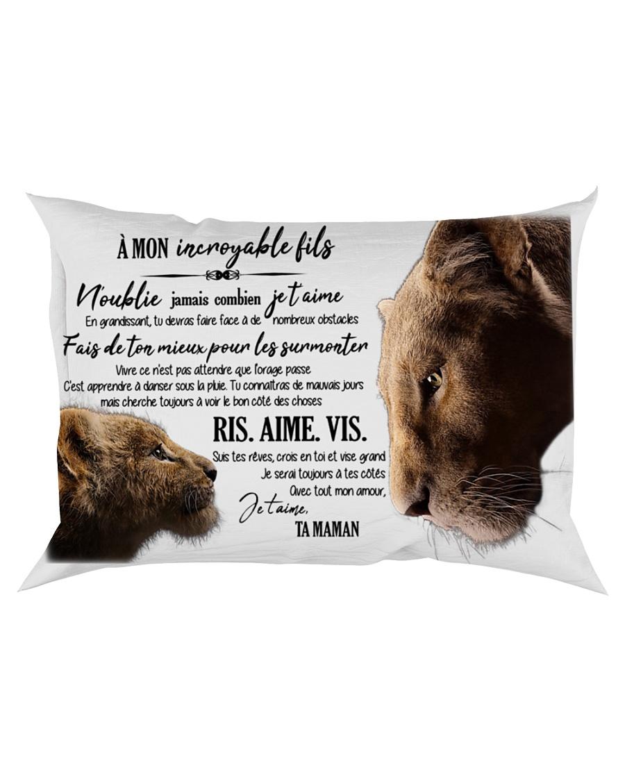 A Mon Incroyable Fils  Rectangular Pillowcase