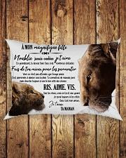 A Mon Incroyable Fille Rectangular Pillowcase aos-pillow-rectangle-front-lifestyle-2