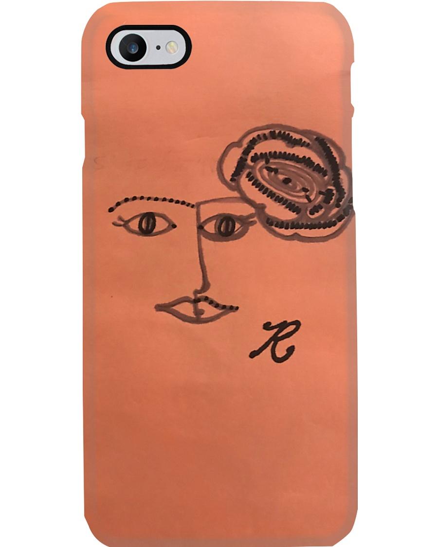 rose face Phone Case