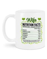 PERSONALIZED MUG: wife nutrition facts  Mug back
