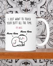 PERSONALIZED MUG: Sweetest Gift For Her - Him 2 Mug ceramic-mug-lifestyle-48