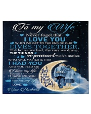 To my wife - never forget that i love you Comforter tile