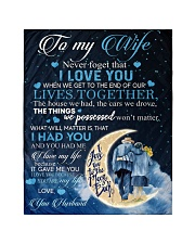 To my wife - never forget that i love you Quilt tile