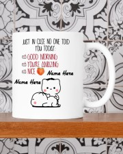 JUST IN CASE NO ONE TOLD YOU TODAY Mug ceramic-mug-lifestyle-48