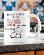 JUST IN CASE NO ONE TOLD YOU TODAY Mug ceramic-mug-lifestyle-57