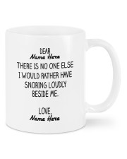 PERSONALIZED MUG: Sweetest Gift For Her 02 Mug front