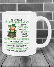 PERSONALIZED MUG: Gift For son in law Mug ceramic-mug-lifestyle-03