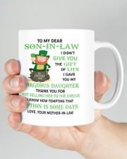 PERSONALIZED MUG: Gift For son in law Mug ceramic-mug-lifestyle-26