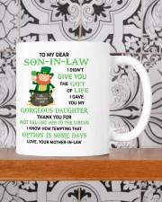 PERSONALIZED MUG: Gift For son in law Mug ceramic-mug-lifestyle-48
