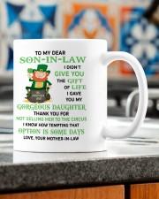PERSONALIZED MUG: Gift For son in law Mug ceramic-mug-lifestyle-57