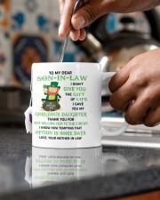 PERSONALIZED MUG: Gift For son in law Mug ceramic-mug-lifestyle-60