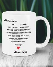 PERSONALIZED MUG: Sweetest Gift For Her - Him 2 Mug ceramic-mug-lifestyle-05