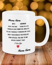 PERSONALIZED MUG: Sweetest Gift For Her - Him 2 Mug ceramic-mug-lifestyle-06