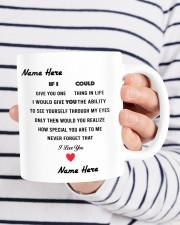 PERSONALIZED MUG: Sweetest Gift For Her - Him 2 Mug ceramic-mug-lifestyle-36