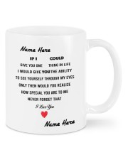 PERSONALIZED MUG: Sweetest Gift For Her - Him 2 Mug front