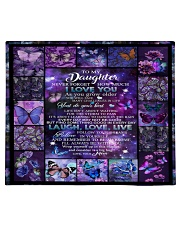 to my daughter - never forget how much i love you Comforter tile