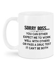 PERSONALIZED MUG: Gift For Boss Mug back