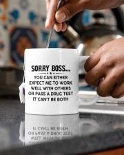 PERSONALIZED MUG: Gift For Boss Mug ceramic-mug-lifestyle-60
