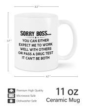 PERSONALIZED MUG: Gift For Boss Mug ceramic-mug-lifestyle-62