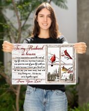 To my husband in heaven 17x11 Poster poster-landscape-17x11-lifestyle-19
