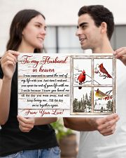 To my husband in heaven 17x11 Poster poster-landscape-17x11-lifestyle-20