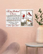 To my husband in heaven 17x11 Poster poster-landscape-17x11-lifestyle-22