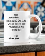 PERSONALIZED MUG: Sweetest Gift For Her - Him Mug ceramic-mug-lifestyle-57