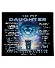 To my daughter - my baby girl  Comforter tile