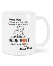 I ADORE YOU AND LOVE EVERY PART OF YOU Mug front
