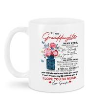 PERSONALIZED MUG: To my granddaughter Mug back