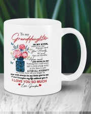 PERSONALIZED MUG: To my granddaughter Mug ceramic-mug-lifestyle-05