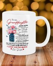 PERSONALIZED MUG: To my granddaughter Mug ceramic-mug-lifestyle-06