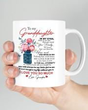 PERSONALIZED MUG: To my granddaughter Mug ceramic-mug-lifestyle-26