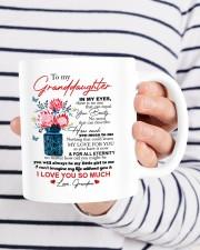 PERSONALIZED MUG: To my granddaughter Mug ceramic-mug-lifestyle-36