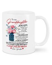 PERSONALIZED MUG: To my granddaughter Mug front