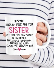 LOVELY MUG: FOR SISTER Mug ceramic-mug-lifestyle-36